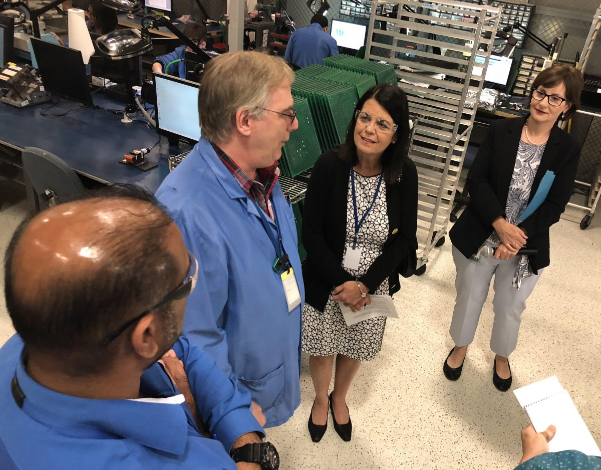 5th District candidate Glassman's Torrington visit focuses on job creation