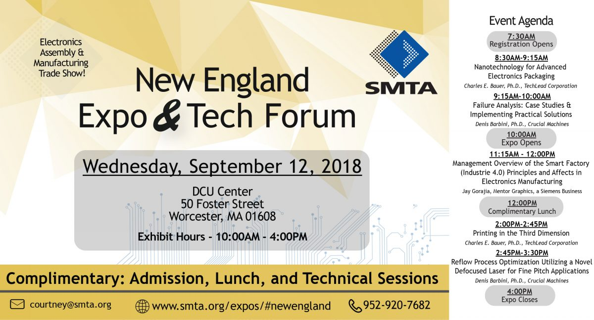 New England Expo and & Tech Forum – Worcester MA